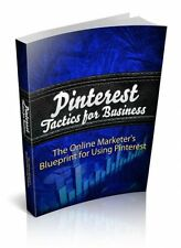 Pinterest Tactics For Business PDF eBook with Full resale rights!