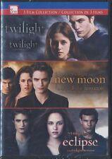The Twilight Saga: 3 Film Collection (DVD, 2014, Canadian) BRAND NEW
