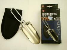 """New listing 9"""" Folding Shovel Trowel Panning-Sluice-Detector-G old-Compact-Steel-Camping- Hike"""
