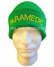 PARAMEDICO Beanie/Cappelli Di Lana LGT VERDE per ambulanza Medic Emergenza