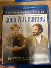 Good Will Hunting (Blu-ray 2012, 15th Anniversary authentic us rare classic