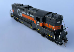 Athearn GUILFORD RAIL SYSTEM GP9 Pan Am  #62 W/added Details!🌐