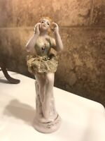 Hand Painted Vintage/Antique Porcelain Ballerina Figurine