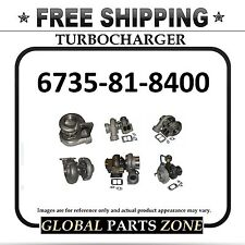 NEW TURBO for KOMATSU 6735-81-8400 6735818400 FREE DELIVERY