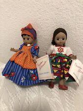 """Lot Of 2 Madame Alexander Jamaica #542 And Rare Mexico International 8"""""""