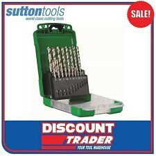 Sutton Tools Viper HSS Drill Set 19 Piece Metric V2M D105V2M
