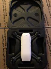 DJI Spark Quadcopter Camera Drone - Alpine White W/ Foam Carrying Case