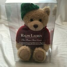 Ralph Lauren Teddy Bear Plush Original Packaging
