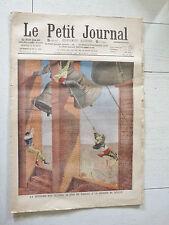 PETIT JOURNAL 1908 PAQUES ESPAGNE CLOCHES LA GIRALDA A SEVILLA / CHIEN SAUVEUR