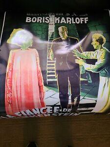 Universal Film Bride of Frankenstein Boris Karloff 24 x 36 Reproduction Poster