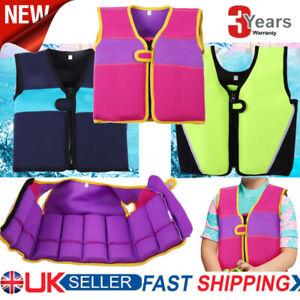 Kids Swim Float Vest Swimming Pool Aid Child Age 1-6 Life Jacket Inflatable NEW