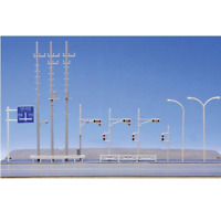 NEW Kato N Scale UniTrack Traffic Signals and Signs 23-214