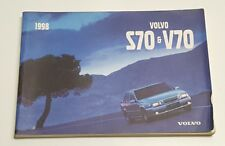 1998 VOLVO S70 V70 OWNER MANUAL USER GUIDE GTMS GTAS GLT T5 BASE V5 2.3L 2.4L S