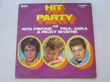 HIT PARTY MIT RITA PAVONE - PAUL ANKA & RICKY SHAYNE - LP