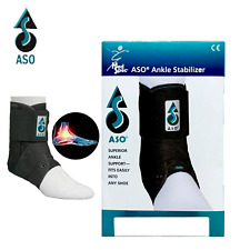 Med Spec ASO (Black) Ankle Stabilizer Ankle Brace Lace up