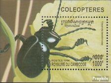 Cambodge Bloc 207 (complète edition) neuf avec gomme originale 1994 coléoptère