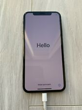 Apple iPhone X - 64GB - Space Gray (Unlocked) A1865 (CDMA + GSM)