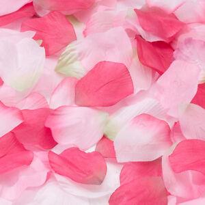 Fabric Flower Petals for Flower Girl Baskets, Tabletops, Wedding Decorations