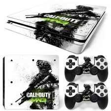 Sony PS4 Slim Console and Controller Skins / Decal --COD MW3 (S-0001)