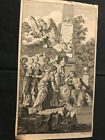 C GRIGNION SCULP AFTER J WALE DEL OLD MASTER ENGRAV FRONTISPIECE LORD MAG 1760