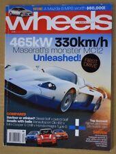 Wheels Apr 2005 Honda Integra Type-S, Mini Cooper S Chilli Renaultsport Clio 182