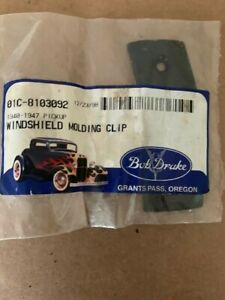 1940-1947 ford pickup molding clip