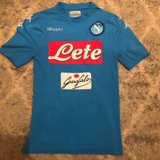 SSC Napoli 2016/17 Home Football Shirt Medium