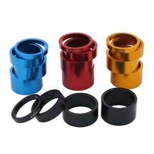 2*Set Bicycle Headset Spacer Mountain Bike Headset Washer Front Stem Fork-Spacer