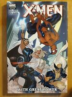 X-Men With Great Power hardcover excellent condition Spider-Man