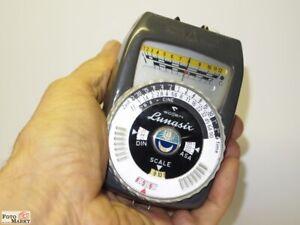 Gossen Lunasix Cds Photometer 2 Measuring Ranges Light Meter Universal