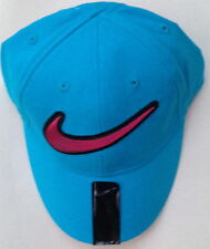 NWT NIKE JUST DO IT TODDER C BLUE COTTON CAP HAT SIZE 2/4T $16