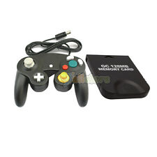 Shock Game Wired Controller + 128MB Memory Card for Nintendo Gamecube GC WII