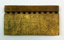 1889 Calliope Kids Wooden Mouth Harp Toy Musical Instrument B&B Mfg Norwalk CT