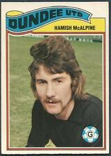 TOPPS 1978 SCOTTISH FOOTBALLERS-#088-DUNDEE UNITED-HAMISH McALPINE