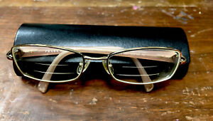 Prada Eyeglass Frame VPR 59N Color ZVN-1O1 Pale Pink ITALY Glasses W/ Case
