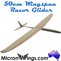 Free Flight Glider - Razor 50cm Wingspan