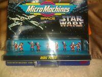 Galoob micro machines star wars Rebel Pilots