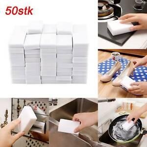 50 stk Putzschwamm Radierschwamm Schmutzradierer Magic Eraser Schwamm Clear