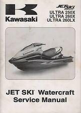 2009 KAWASAKI  PERSONAL WATERCRAFT JET SKI ULTRA 250X/260X  SERVICE MANUAL (711)