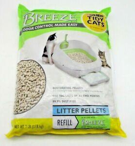 Purina 7 lb Pouch Dust Free Tidy Cats Breeze Refill Litter Pellets Pet Supplies