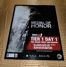 Medal of Honor Tier 1 Day 1 Promo Display Poster