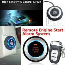 Auto Car Alarm System Security Push Button Remote Engine Start Kit Anti-theft