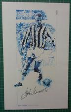 John Charles-Juventus & Wales firmado Asociación Fútbol impresión muy deseable