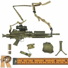 SEAL Six Red Team - MK46 SAW Machine Gun Set - 1/6 Scale - BBI Action Figures