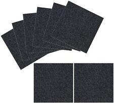 Place and Stick Tile Mats, Black, 8 Pieces TRILUC 40-1001-99-2N