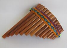 Antara Pan Pipes Peruvian Flute For Beginners Handcrafted Bamboo #489