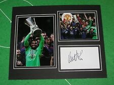 Sergio Romero Signed Manchester United FC 2017 UEFA Europa League Final Mount