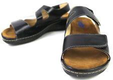 Wolky Women's Liana Leather Walking Sandals Black US 5.5 EUR 36 NWOB Z132