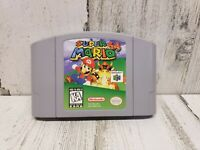 Super Mario 64 N64 Nintendo 64 Authentic & Tested! Great Condition! NICE!