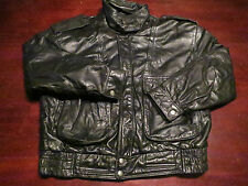 Vtg Mens G-III G3 Leather Jacket Coat Medium Flight Bomber Motorcycle Military